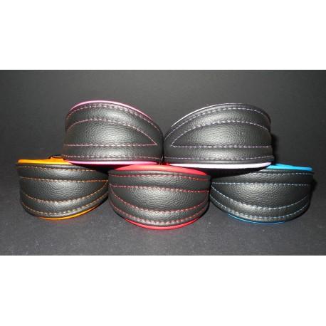Soft Leather Collar 30 - 35 cm
