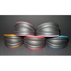 Soft Leather Collar 32 - 38 cm