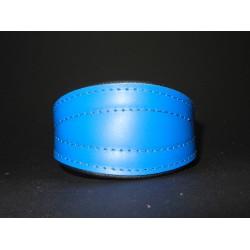 Simple Leather Collar 24 - 28 cm
