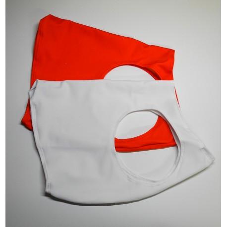 Coursing-Shirts Set 2 Stk Rot + Weiss
