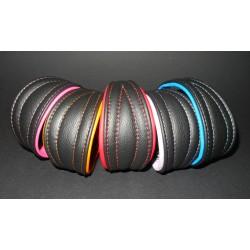 Soft Leather Collar 22 - 24 cm